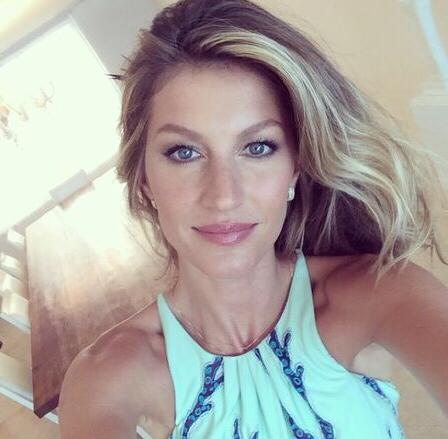 Gisele Selfie from World cup prize giving