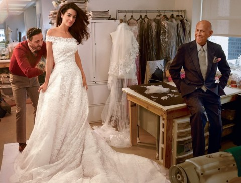 amal-alamuddin-gets-fitted-in-her-oscar-de-la-renta-gown