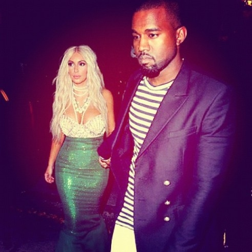 kim-kardashian-kanye-west-halloween costumes mermaid and sailor