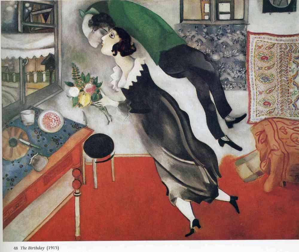 Marc-Chagall-Birthday-1915-Milano-mostra