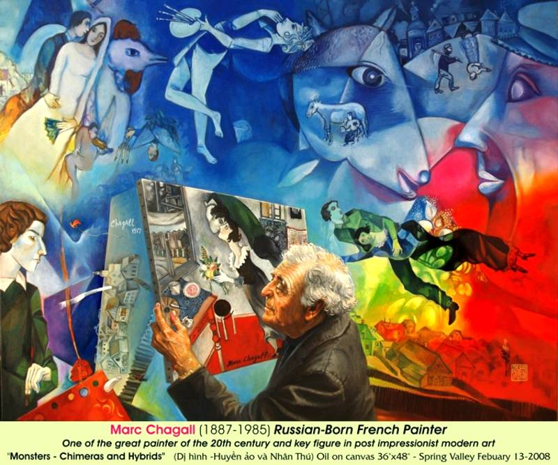 MarcChagall painting