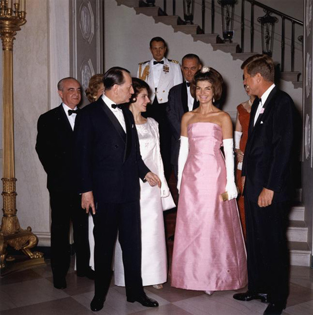 oscar de la renta for jackie kennedy