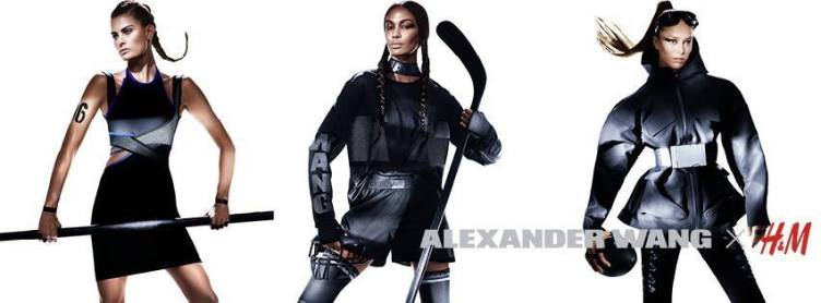 isabeli fontana, joan smalls and raquel zimmmermann for hnm alexander wang