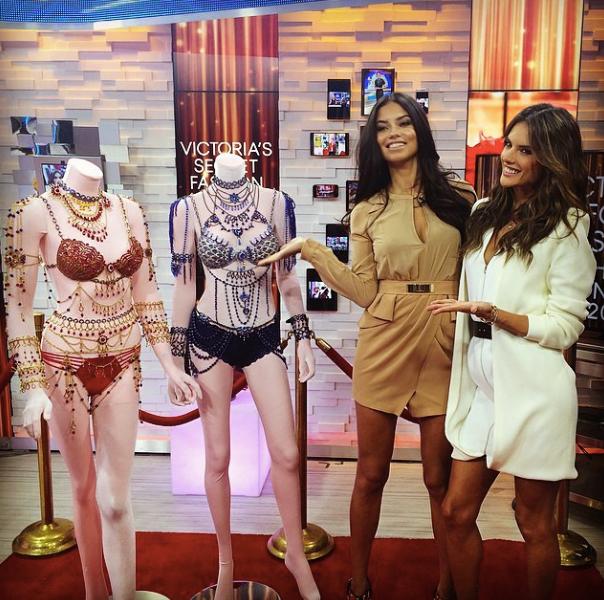 Victoria Secret Show Fantasy Bra for Adriana Lima and Alessandra Ambrosio