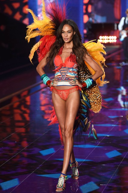joan smalls exotic traveler for VS 2014 london fashion show