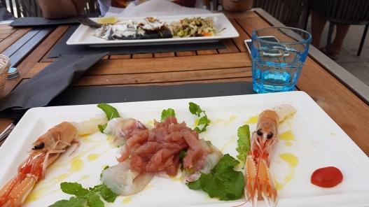 seafood Rovinj in Croatia